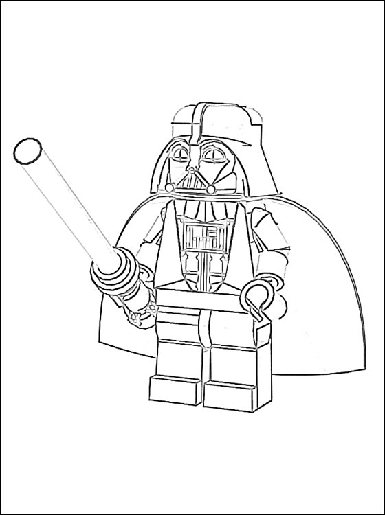 Coloriage204 coloriage star wars lego - Dessin lego star wars ...