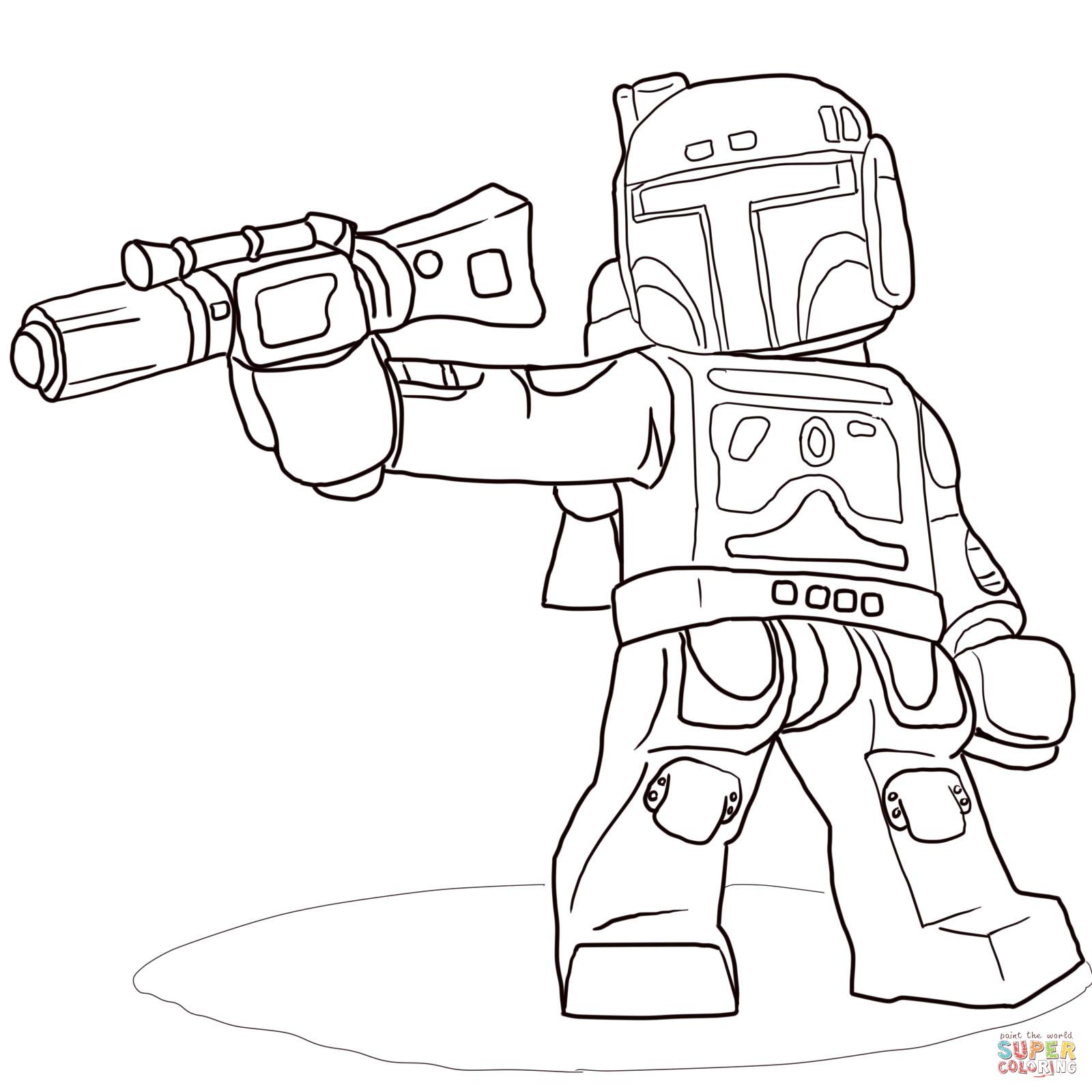 Coloriage Star Wars Lego u00e0 colorier - Dessin u00e0 imprimer