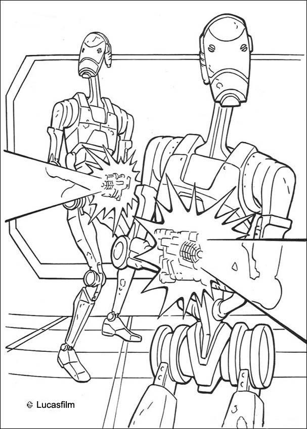 20 dessins de coloriage star wars r2d2 imprimer - Coloriage star wars yoda ...