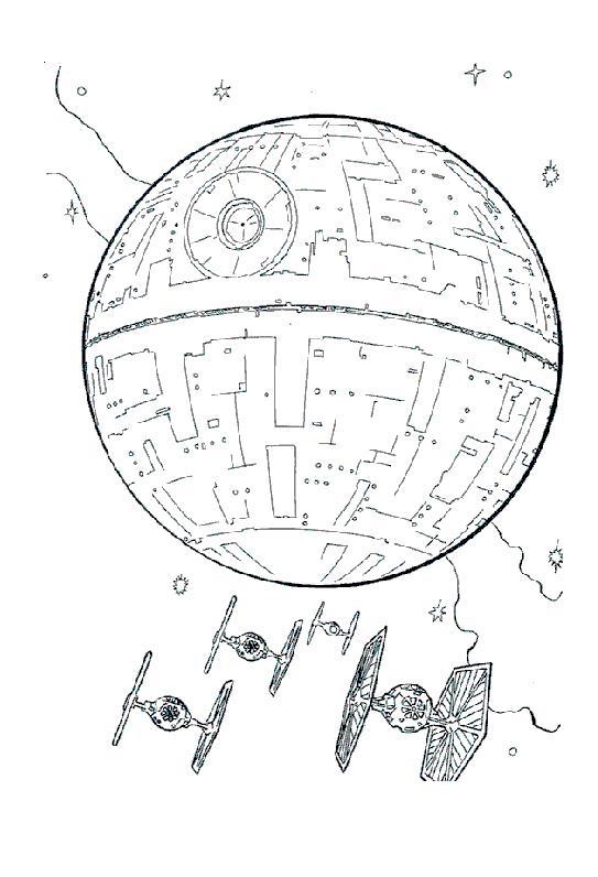20 dessins de coloriage star wars vaisseau imprimer - Image star wars vaisseau ...