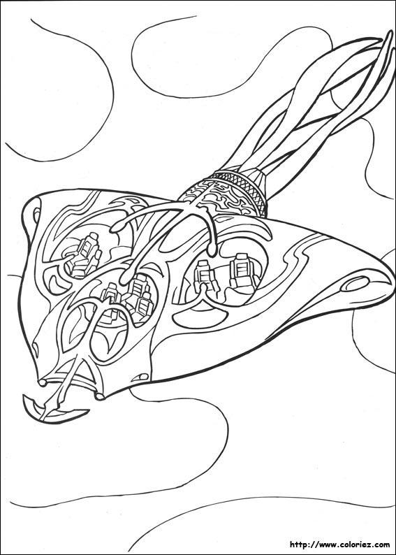 20 dessins de coloriage star wars vaisseau imprimer - Dessin vaisseau star wars ...