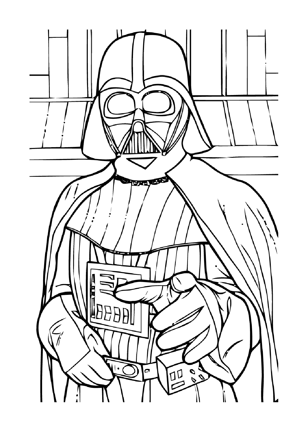 Coloriage star wars capitaine rex - Dessin a colorier star wars ...