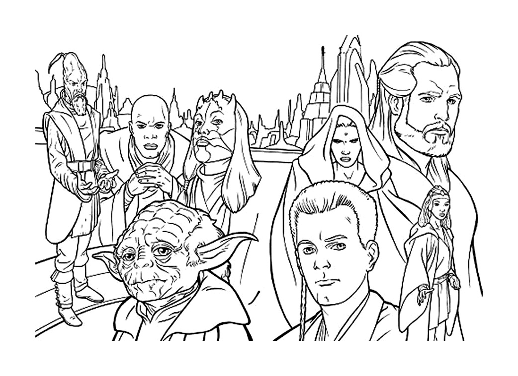 Coloriage masque star wars - Dessin a imprimer de star ...