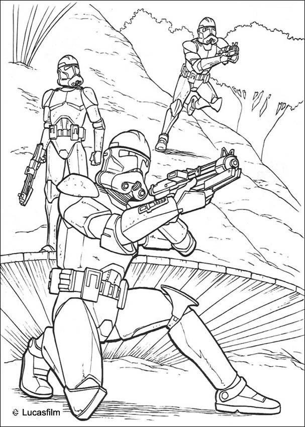 coloriage à dessiner star wars rebel