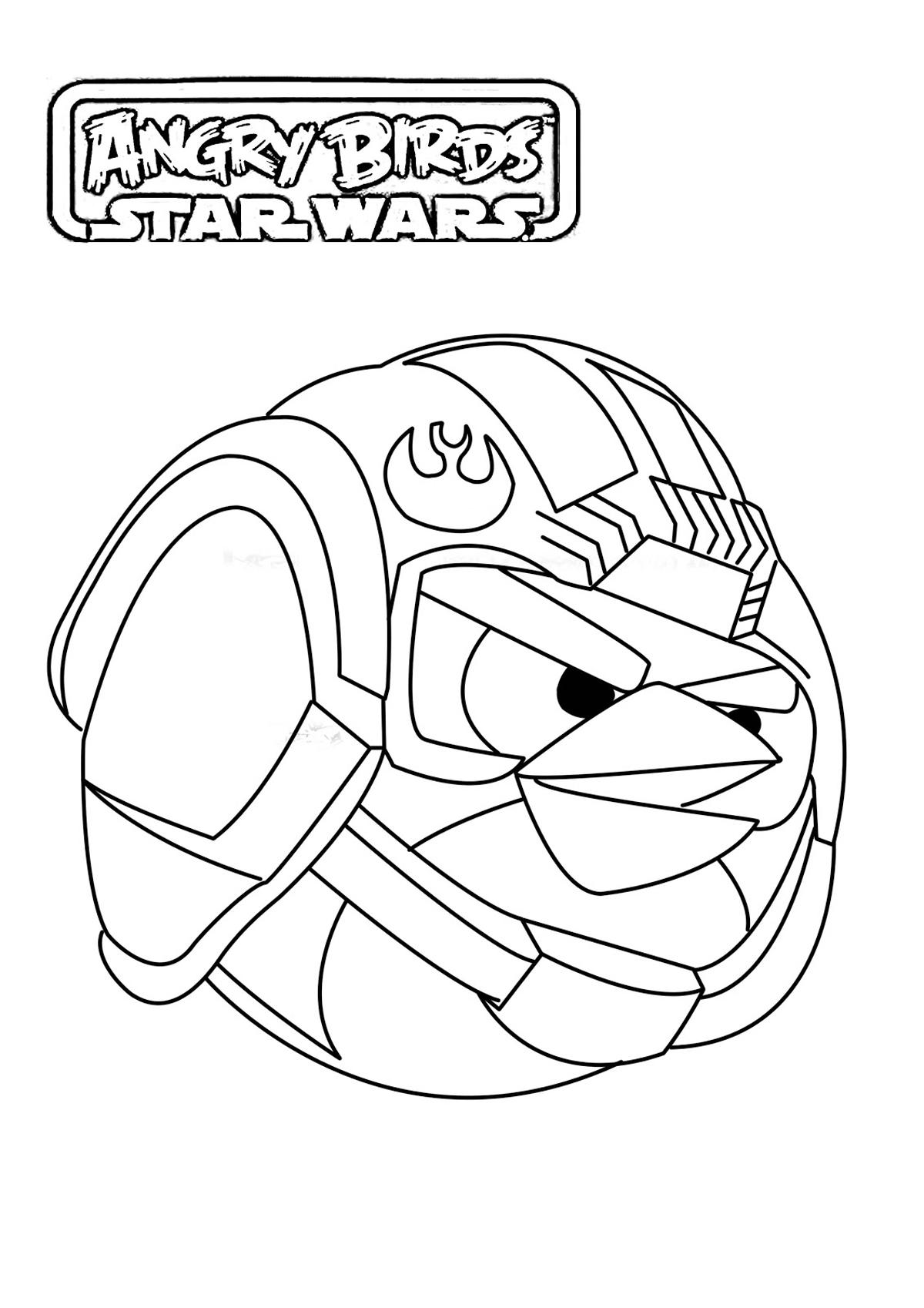 Beau Dessin Coloriage Imprimer Star Wars