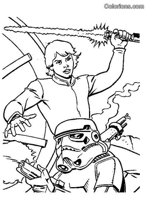 Imprimer coloriage dessiner star wars gratuit - Photo star wars a imprimer ...