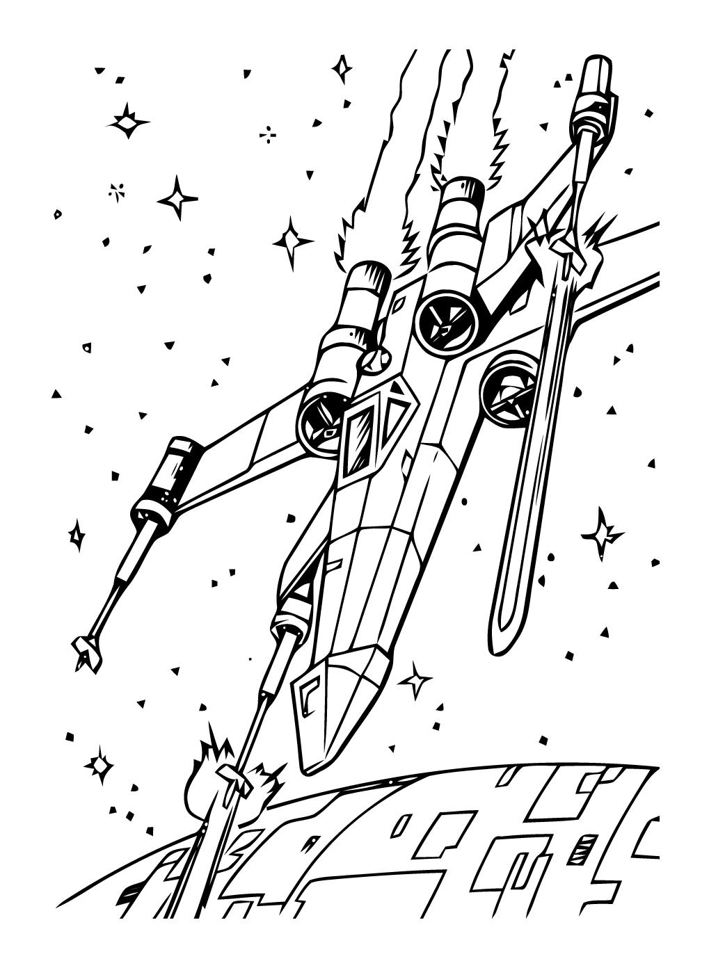 Dessin colorier star wars droide - Coloriage star wars yoda ...