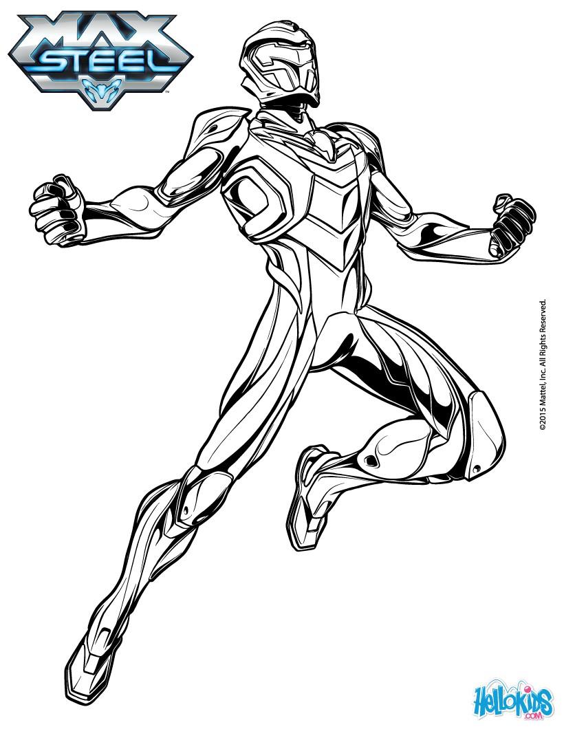 dessin en ligne real steel