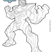 dessin real steel