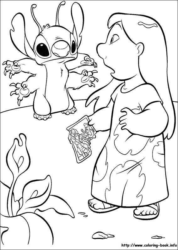 20 dessins de coloriage stitch et leroy imprimer - Coloriage stitch ...