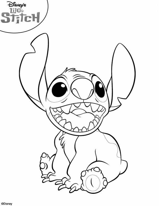 125 dessins de coloriage Stitch à imprimer
