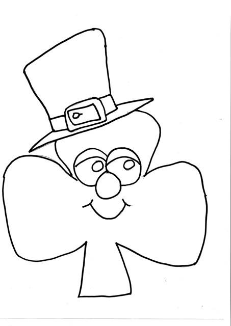 dessin de st patrick