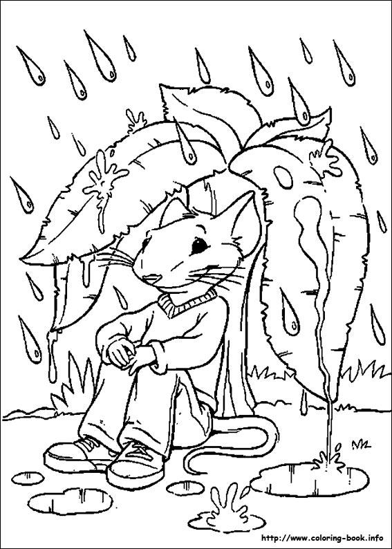 coloriage � dessiner stuart little gratuit