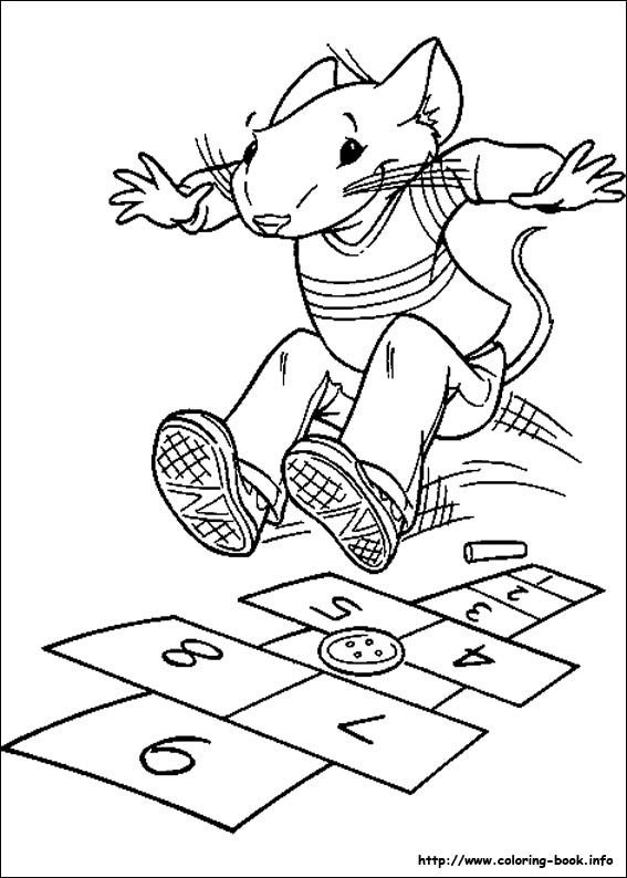 jeux de dessin � colorier stuart little