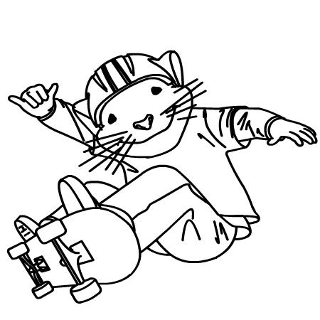 dessin à imprimer stuart little