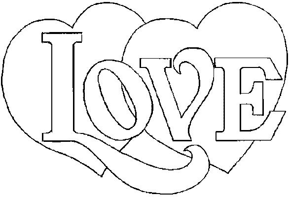 coloriage de la st valentin a imprimer