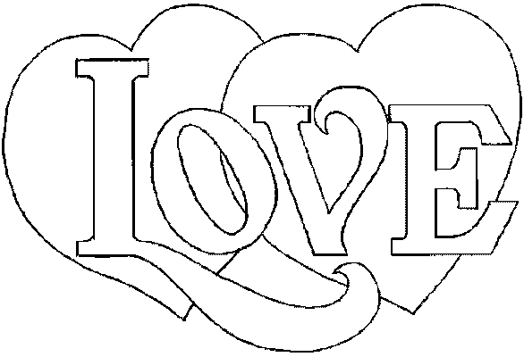 114 dessins de coloriage st valentin imprimer - St valentin dessin ...