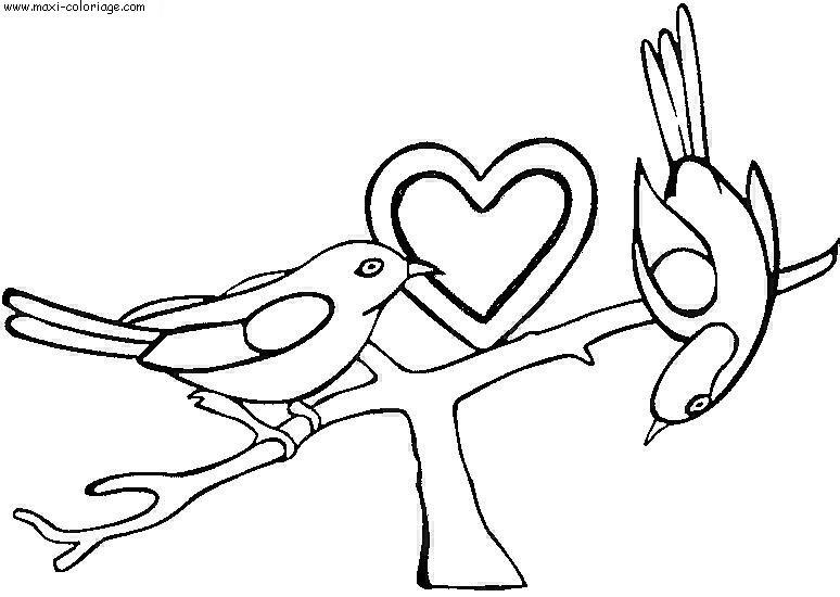 dessin sur la st valentin