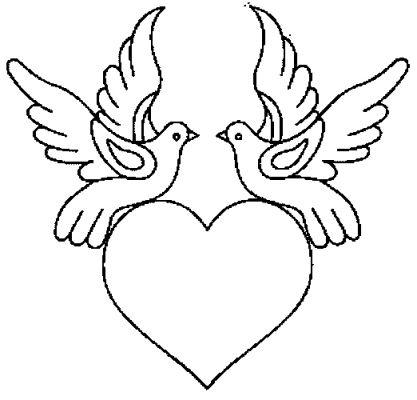 Coloriage coeur de st valentin - Dessin de saint valentin ...