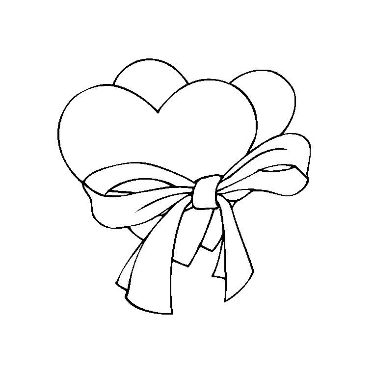 Coloriage Coeur Chocolat.Coloriage A Dessiner St Valentin Carte