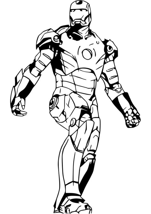8 dessins de coloriage super h ro imprimer - Dessiner un super heros facile ...