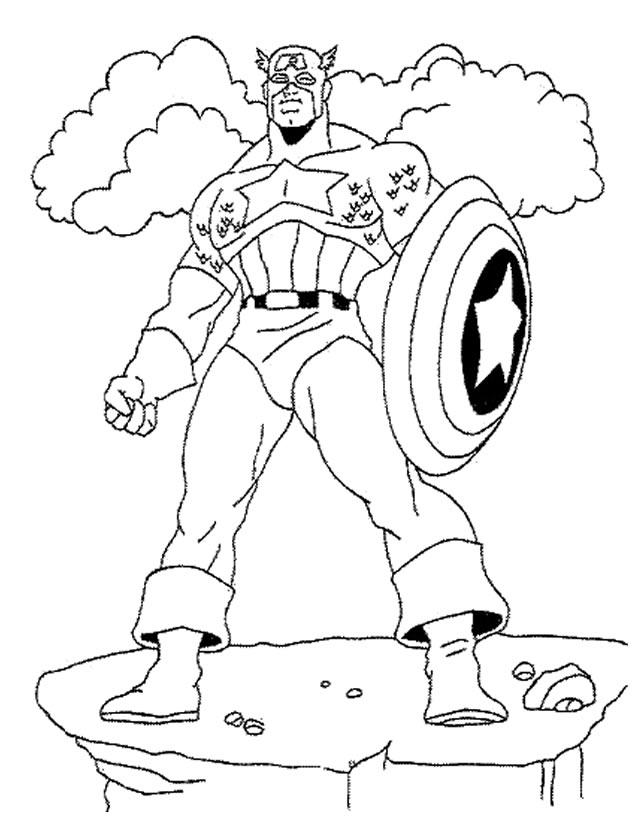 19 dessins de coloriage super h ros avengers imprimer - Dessin de avengers ...