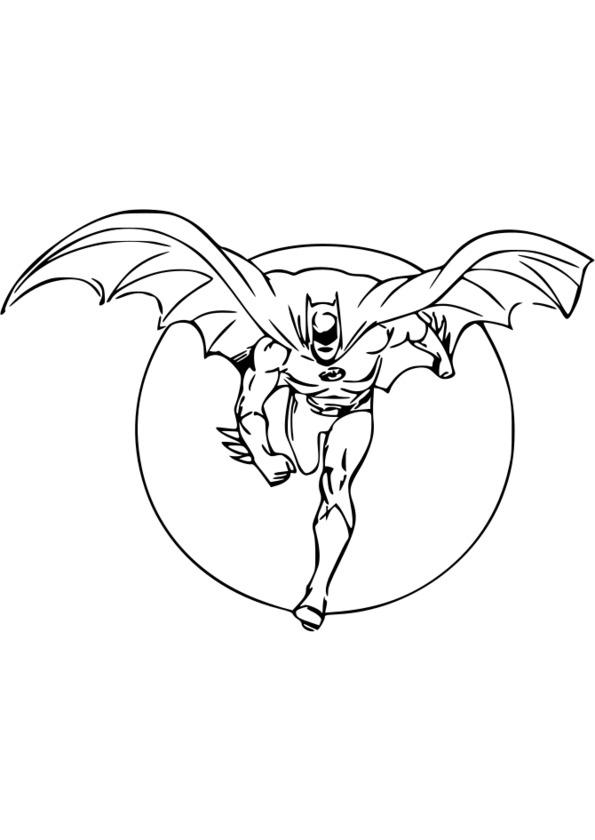 dessin de super héros squad
