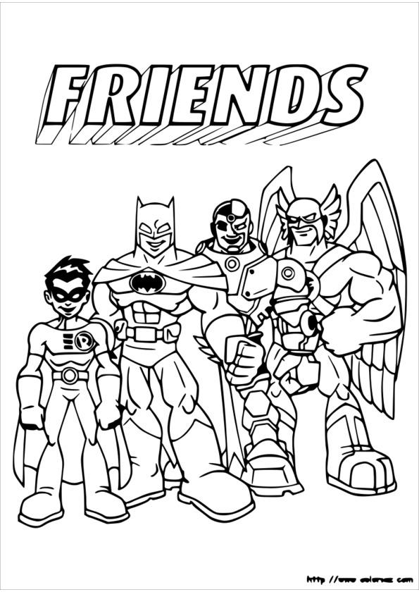Coloriage Super Heros Marvel A Imprimer