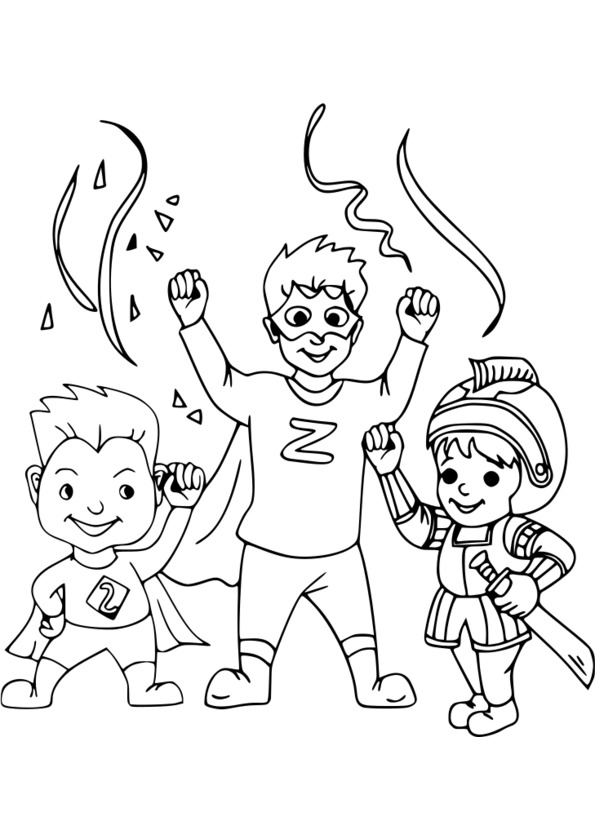 coloriage super heros coloriage