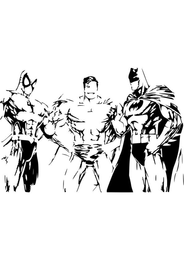 jeu coloriage super heros