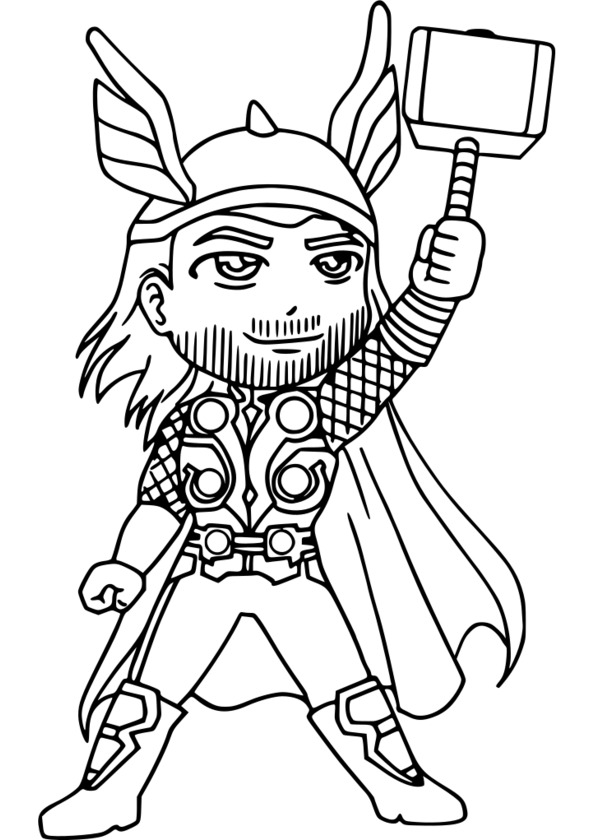 super héros dessin