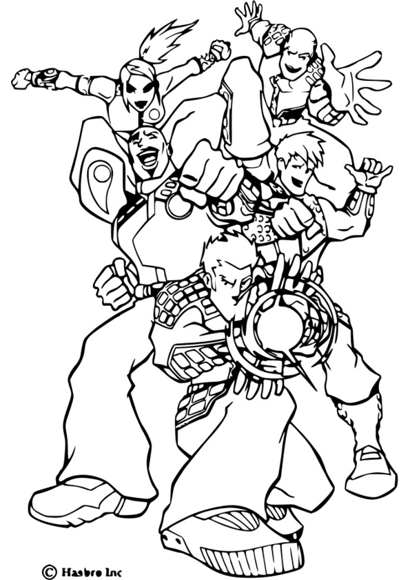 elastico superheroes coloring pages - photo#17
