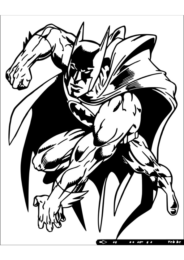 126 dessins de coloriage super h ros imprimer - Coloriage dc comics ...