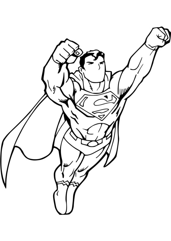 Coloriage Super Heros A Imprimer