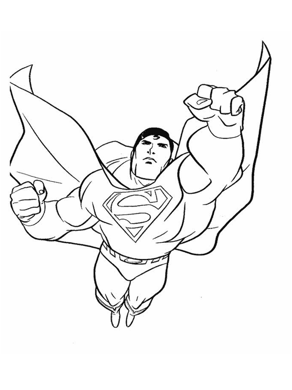 14 dessins de coloriage superman logo  u00e0 imprimer