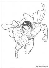 jeux de coloriage a imprimer superman
