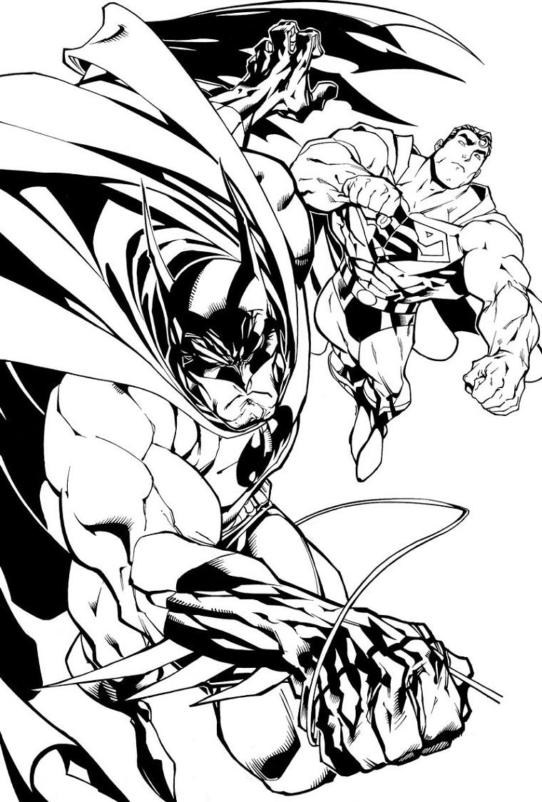 dessin superman lego