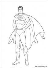 dessin superman et batman en ligne