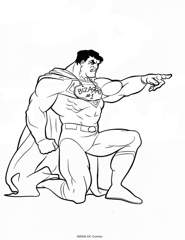 jeux dessin � colorier superman batman
