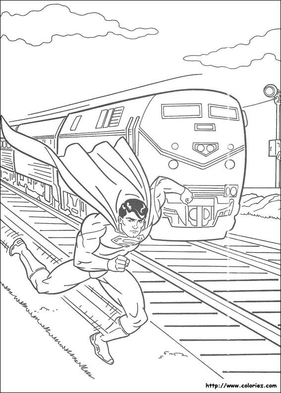 jeux dessin superman batman