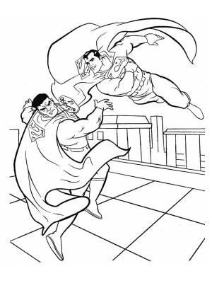 coloriage � dessiner superman man of steel