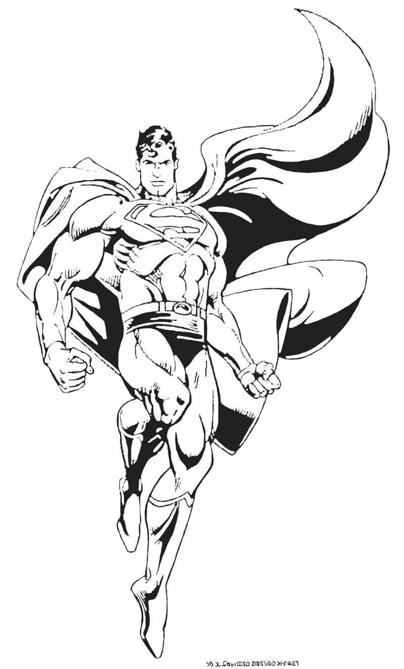 superman coloriage jeux