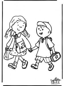 dessin film sur le chemin de l'école