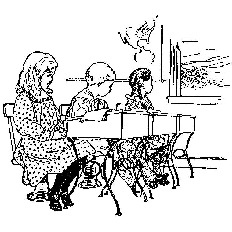 204 dessins de coloriage sur le chemin de l 39 cole imprimer - Dessin classe ...