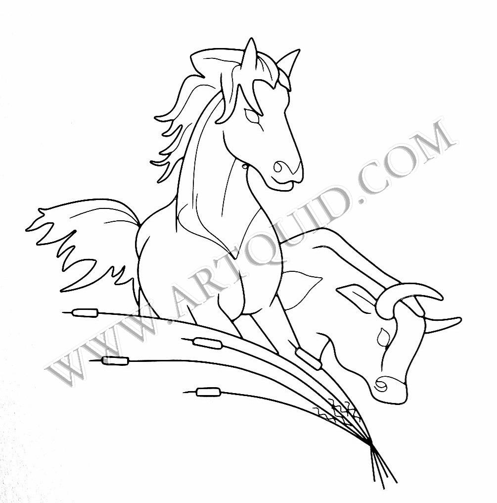 dessin à colorier megazord taureau