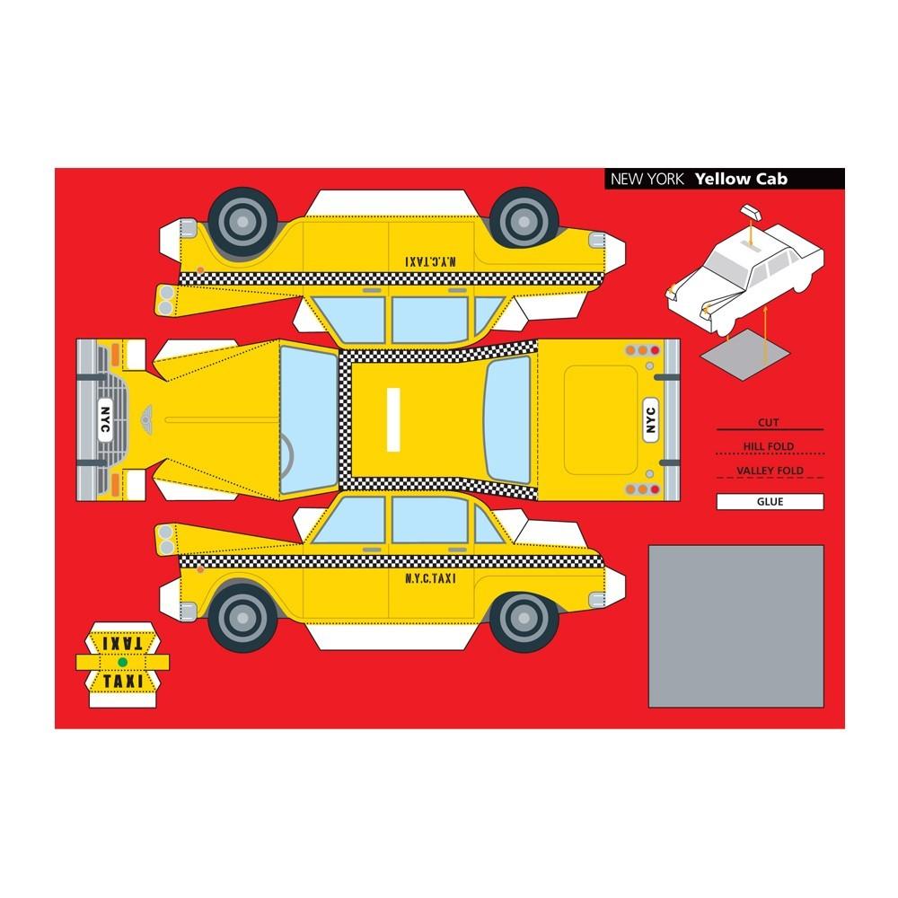 dessin de taxi