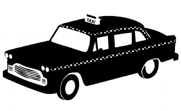 coloriage taxi londonien