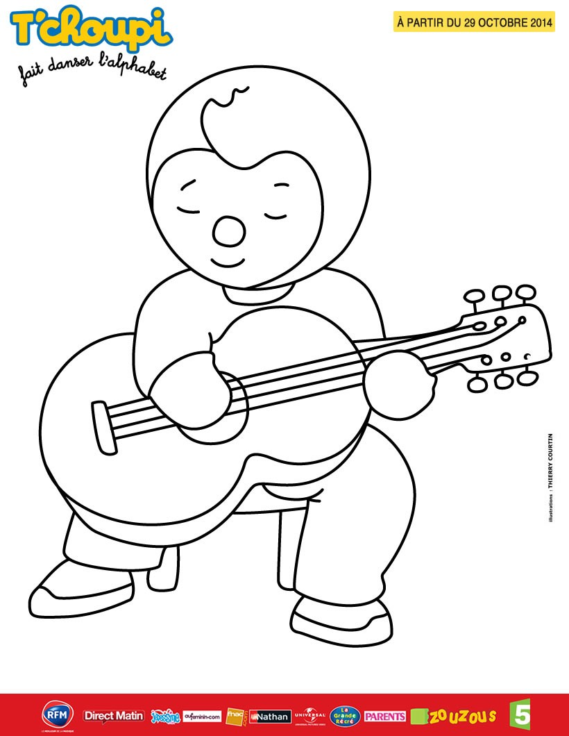 20 dessins de coloriage t 39 choupi l 39 cole imprimer - Tchoupi tchoupi ...