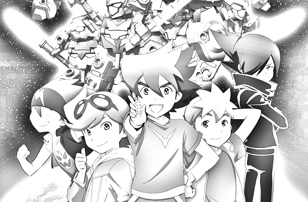 Ten kai knights coloring pages