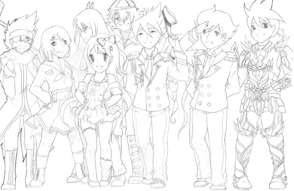 coloriage tenkai knights